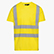 T-SHIRT HV ISO 20471, AMARILLO FLUORESCENTE, swatch