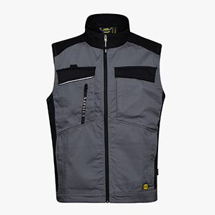 VEST EASYWORK LIGHT, STEEL GREY, medium