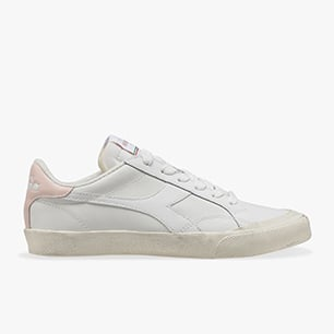 MELODY LEATHER DIRTY, WHITE/PINK CLOUD, medium
