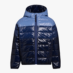 JU.HOODIE PADDED JACKET, BLUE CORSAIR , medium
