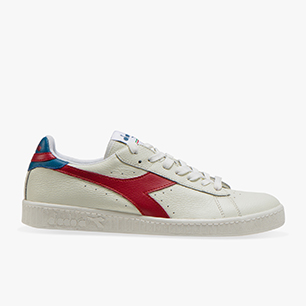 GAME L LOW, WHITE/BRICK RED/INK BLUE, medium