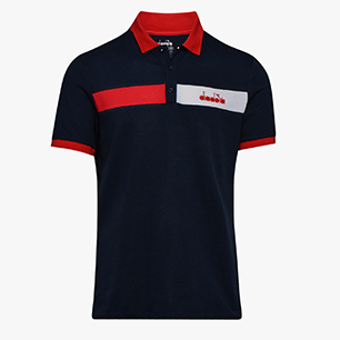 POLO STATEMENT SS, BLUE CORSAIR, medium