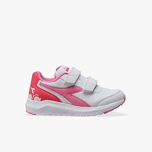 FALCON JR V, WHITE/ORCHID PINK, medium