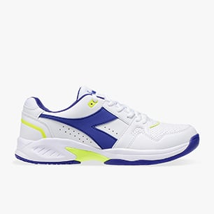 VOLEE 3, WHITE/ROYAL/FLUO YELLOW, medium