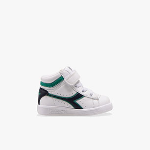 GAME P HIGH TD, WHITE/GREENLAKE, medium