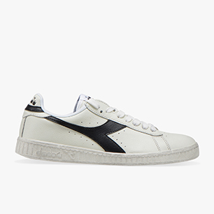 GAME L LOW WAXED, WHITE /BLACK, medium