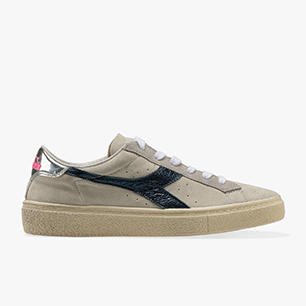 MONTECARLO H SUEDE WAX W, WHITE/BLUE DENIM, medium