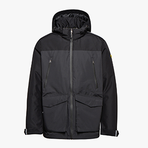 PADDED JKT. TECH EN 342, KOHLENSCHWARZ, medium