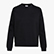 L. SWEATSHIRT CREW CHROMIA, BLACK, swatch