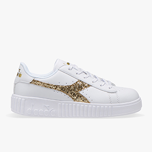 GAME STEP GS, WHITE/RICH GOLD (C5363), medium
