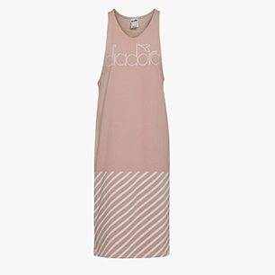 L. DRESS BARRA, PINK SMOKE, medium