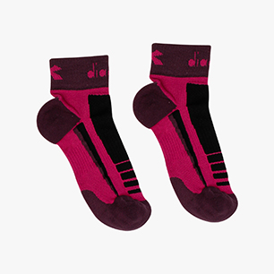 3 QUARTER SOCKS, VIOLET BOYSENBERRY, medium