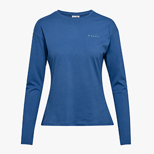 L.LS T-SHIRT CORE, DUTCH BLUE, medium