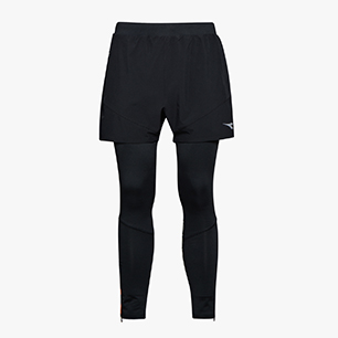 POWER SHORTS 2 IN 1, NEGRO, medium