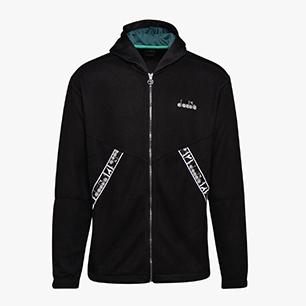 HD ZIP SWEAT BE ONE, NEGRO, medium