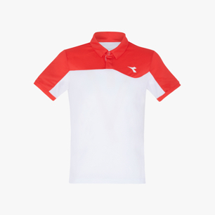 J. POLO COURT, RED, medium