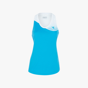 L. TANK COURT, NEON BLUE, medium