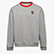 SWEATSHIRT CREW ATLETICO, LIGHT MIDDLE GREY MELANGE , swatch