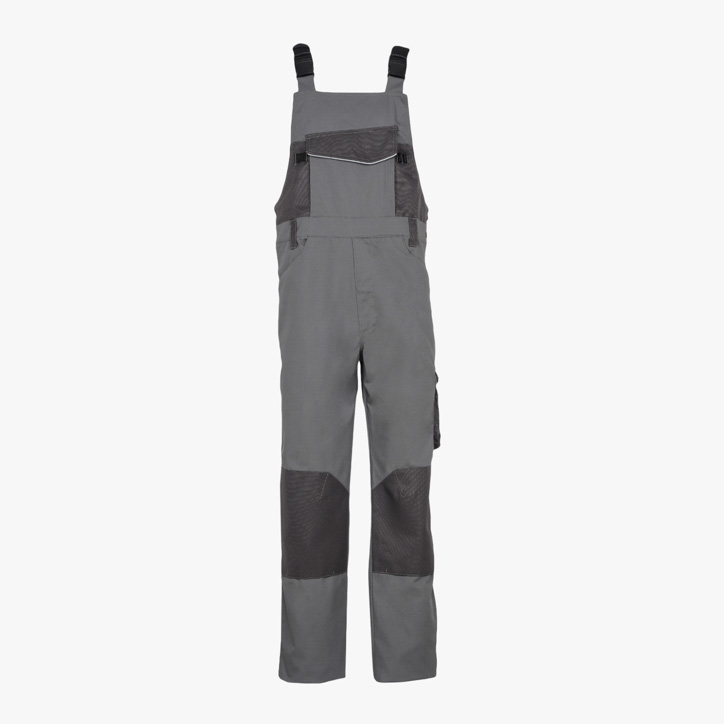 BIB OVERALL POLY ISO 13688:2013, STEEL GREY, large