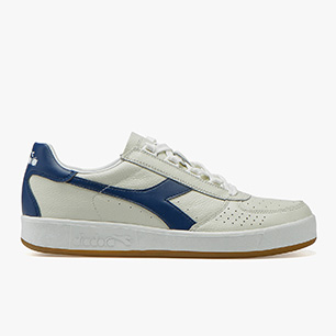 B.ELITE L, WHITE/SALTIRE NAVY (C2816), medium