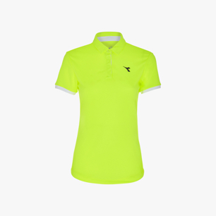 L. POLO COURT, FLUO YELLOW DD, medium