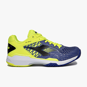 SPEED COMPETITION 5 + AG, FLUO YELLOW DD/ROYAL BLUE/BLK, medium
