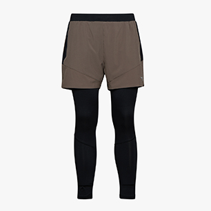 POWER SHORTS 2 IN 1, BUNG GRAY, medium