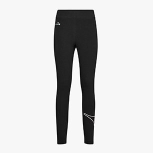 L.LEGGINGS LOGO, BLACK, medium