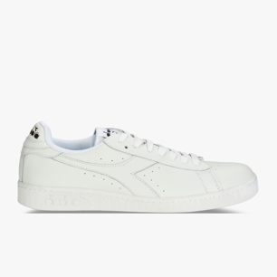 GAME L LOW, WHITE/WHITE/BLACK, medium