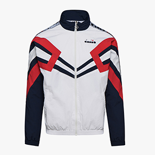 TRACK JACKET MVB, OPTICAL WHT/BLUE NIGHTS/TOMATO, medium