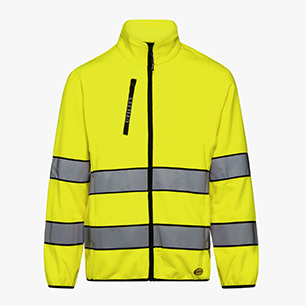 SWEAT PILE HV 20471:2013 3RD CAT., FLUORESCENT YELLOW, medium