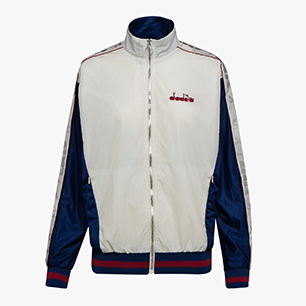 L. TRACK JACKET LA BELLE, ESTATE BLUE/ANEMONE/MARSHMALLO, medium