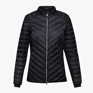L. JACKET WORKOUT, NEGRO, medium