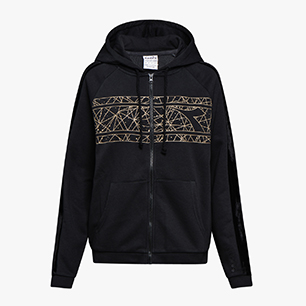 L.HD FZ SWEAT FREGIO, BLACK, medium