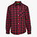 PADDED SHIRT  ISO 13688:2013, NOIR/OLÉANDRE ROUGE , swatch