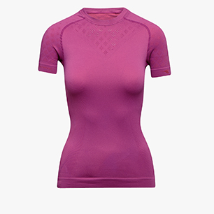 L. SS T-SHIRT ACT, VIOLET RASPBERRY, medium