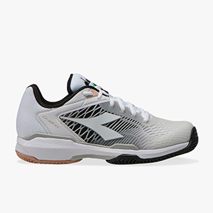 SPEED COMPETITION 6 + W CLAY, WHITE/SILVER/BLACK., medium