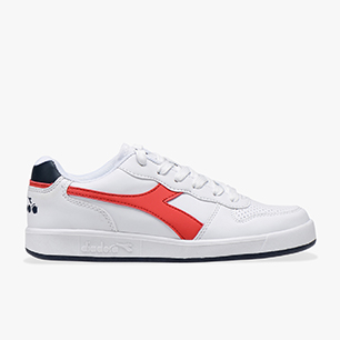 PLAYGROUND GS, WHITE /RED, medium