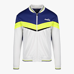 FZ JACKET, BRIGHT WHITE/ROYAL BLUE, medium