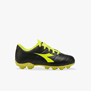 PICHICHI 3 MD JR, BLACK/FLUO YELLOW DIADORA, medium