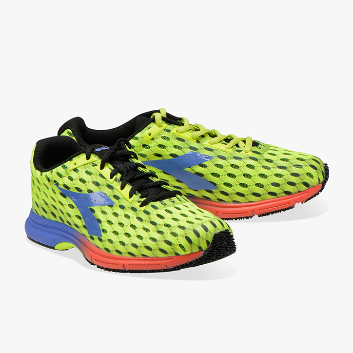 MYTHOS FAST RACER, FLUO YELLOW DD/AMPARO BLUE, large