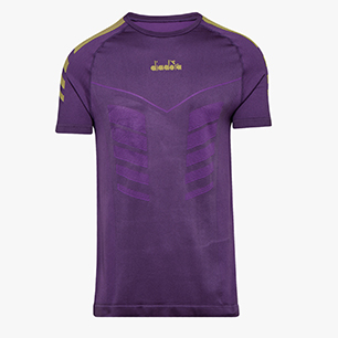 SS SKIN FRIENDLY T-SHIRT, VIOLET MAGIC, medium
