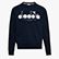 SWEATSHIRT CREW 5PALLE, DENIM BLUE, swatch