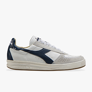B.ELITE H LEATHER DIRTY, WHITE/BLUE DENIM/BLUE DENIM, medium