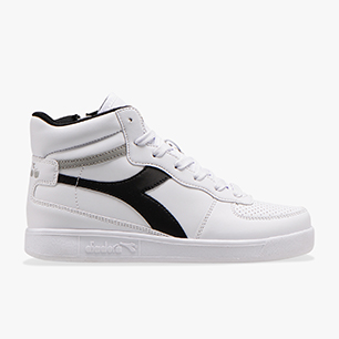 PLAYGROUND H GS, WHITE/ASH/BLACK, medium