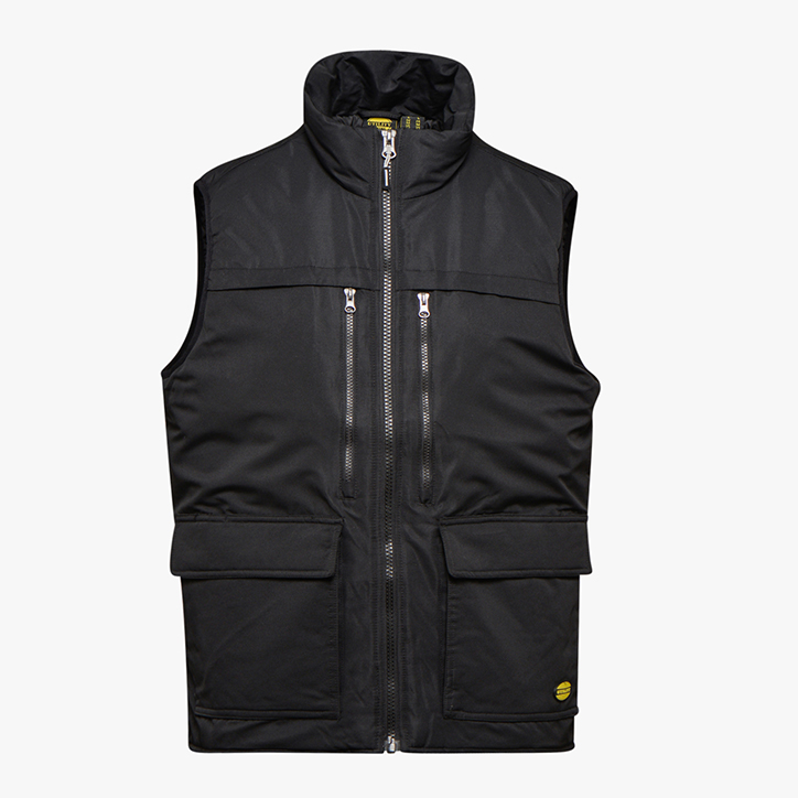 VEST D-SWAT ISO 13688:2013, BLACK, large