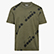 T-SHIRT SS 5PALLE AOP, GREEN RAGE, swatch