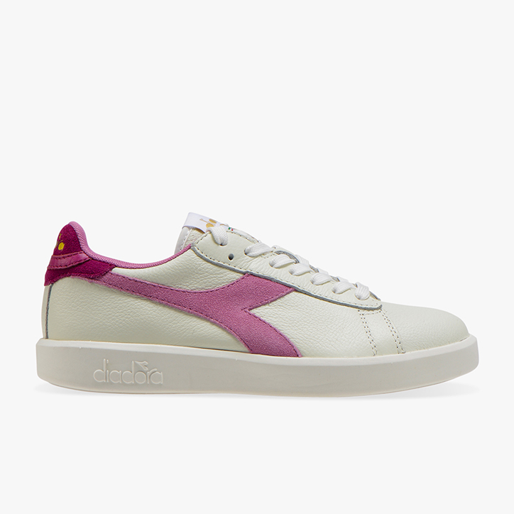 GAME WIDE L, WHITE/MAUVE ORCHID, large