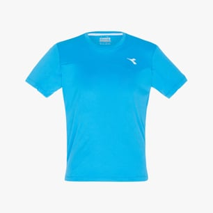 J. T-SHIRT TEAM, NEON BLUE, medium