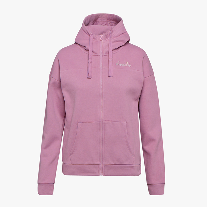 L.HD FZ SWEAT CHROMIA, PINK MAUVE ORCHID, large